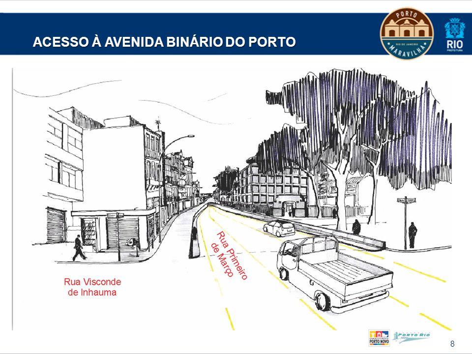 9 ENTRADA DO TÚNEL DA AVENIDA BINÁRIO