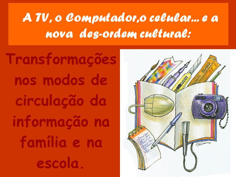 A TV, o Computador,o celular...
