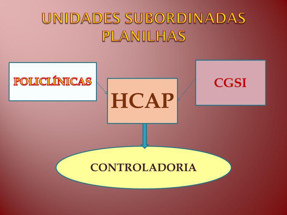 CGSI HCAP CONTROLADORIA