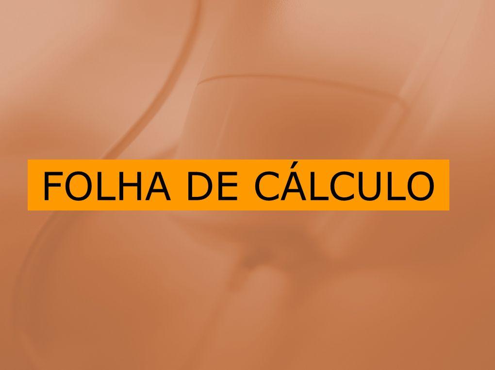 MODULO B: Folha de Cálculo Conceitos básicos Criação de uma folha de cálculo Criação de gráficos e listas O Microsoft Excel é uma poderosa folha de cálculo electrónica usada por milhares de utilizadores de computadores pessoais.