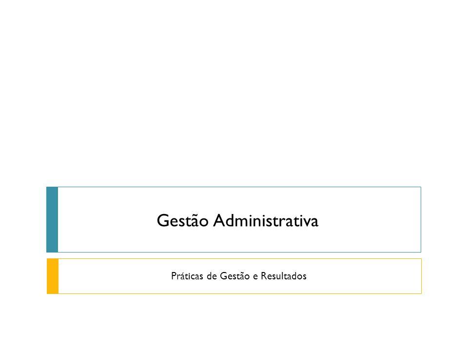 Gestão Administrativa Práticas de Gestão e Resultados