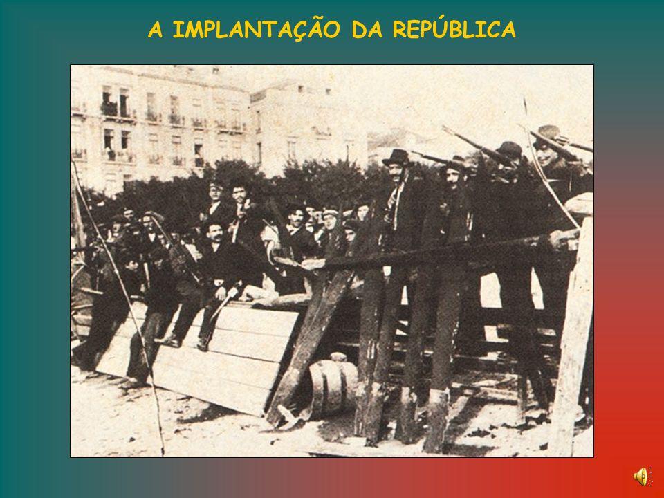 AS CAUSA DA QUEDA DA MONARQUIA (Finais do século XIX e inícios do século XX) Instabilidade política Falência do rotativismo partidário devido às suces