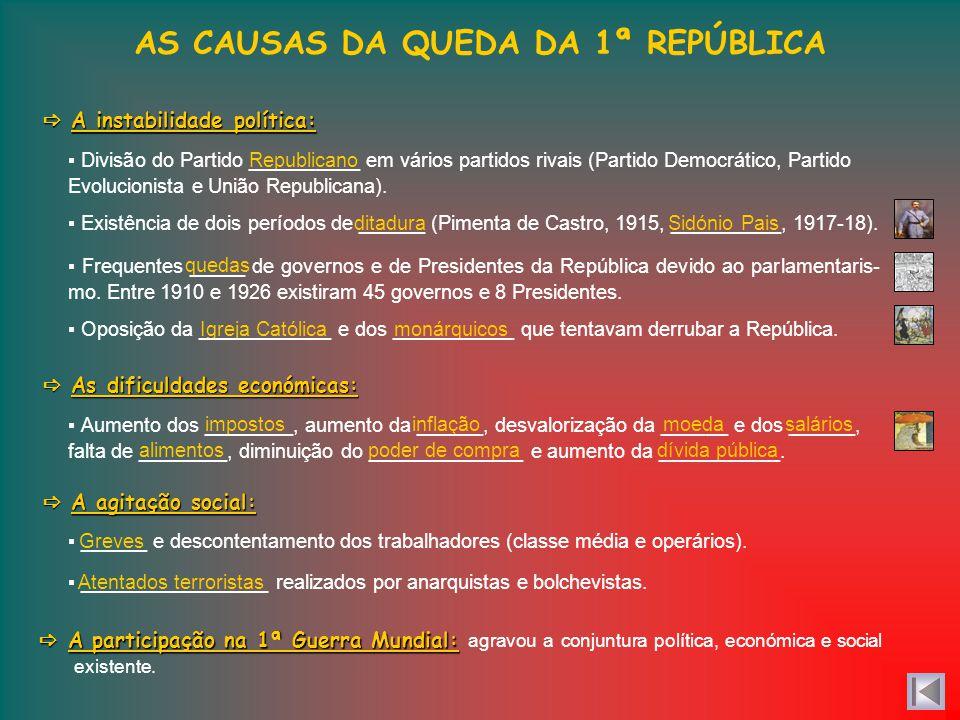 Criação do Ministério de Instrução Pública. Fundação das Universidades de Lisboa e Porto e reorganização da de Coimbra. Fundação de mais de 1500 escol