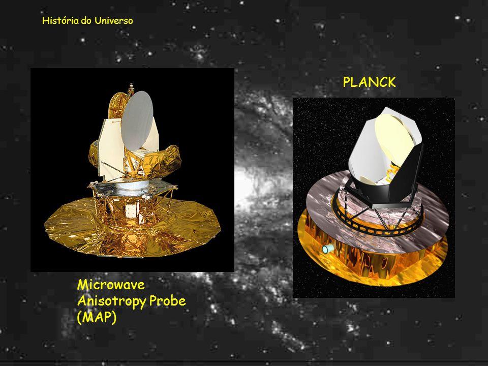 História do Universo Existem outros modelos que não foram aqui referidos! E, possivelmente, muito existirá ainda para descobrir!... Dois satélites que
