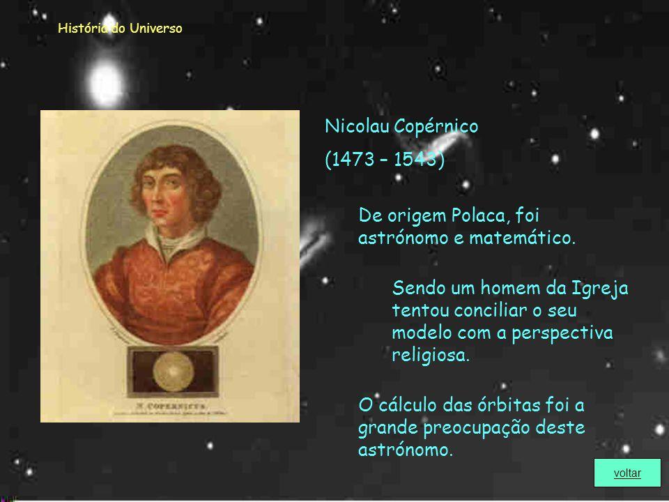 História do Universo Elaborou um calendário com a hora em que várias estrelas apareciam e desapareciam no céu, no alvorecer e no crepúsculo. Forneceu