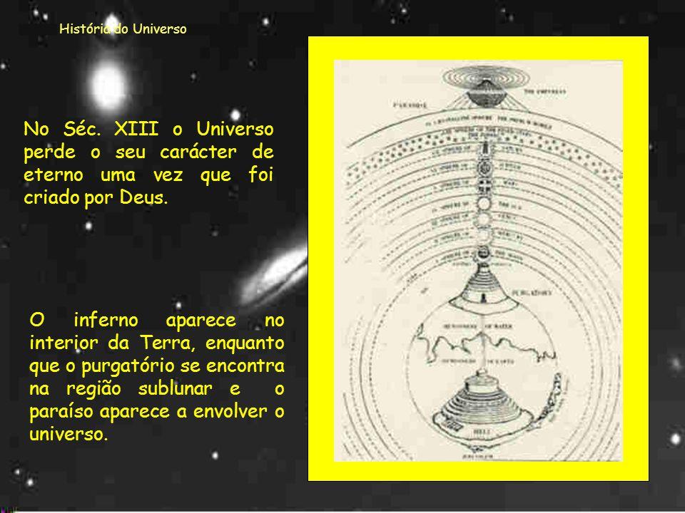 História do Universo Para resolver o problema do movimento retrógrado dos planetas, Ptolomeu criou a designadateoria dos epiciclos. epiciclo