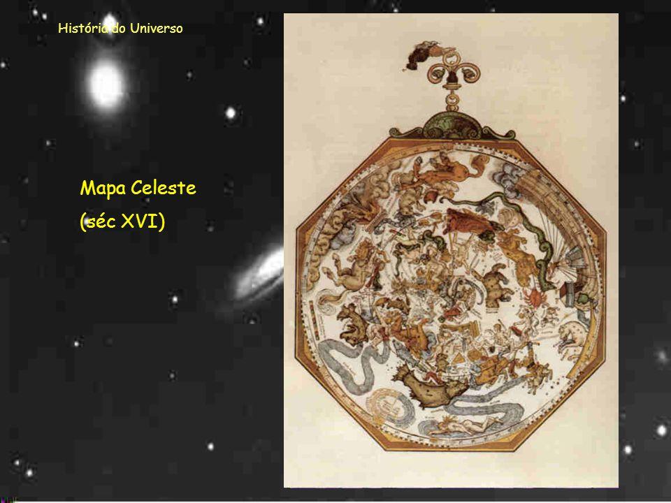 História do Universo Aristóteles pensava que a Terra se encontrava imóvel no centro do Universo e que os planetas e as estrelas se moviam à sua volta.