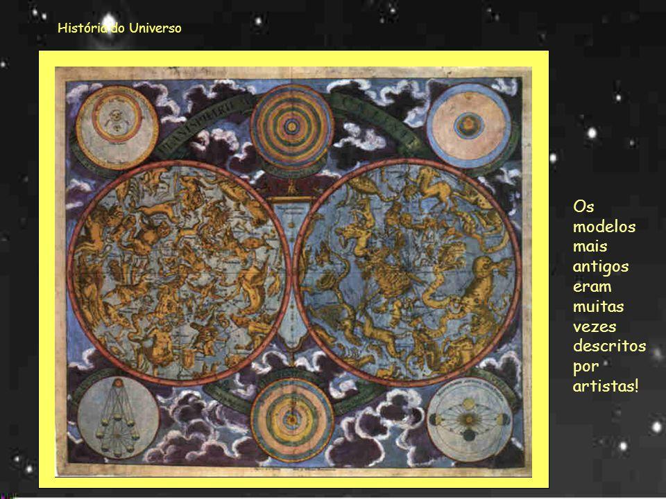 História do Universo Nem sempre o Universo foi olhado da mesma forma! Vamos então começar por fazer uma viagem no tempo e descobrir o que foram pensan