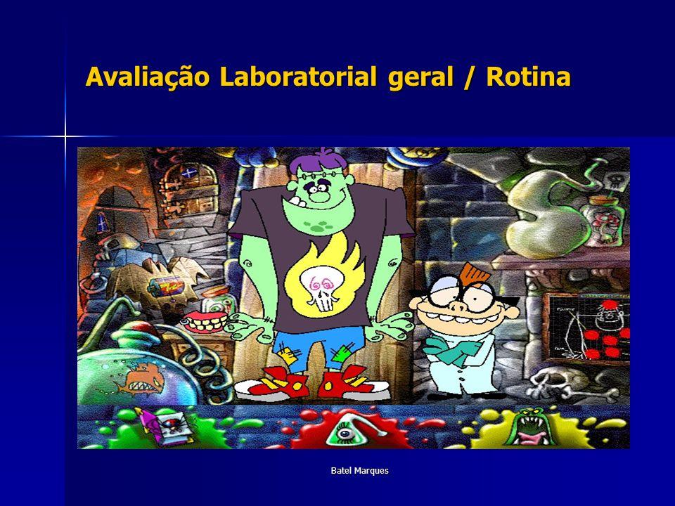 Batel Marques Avaliação Laboratorial geral / Rotina