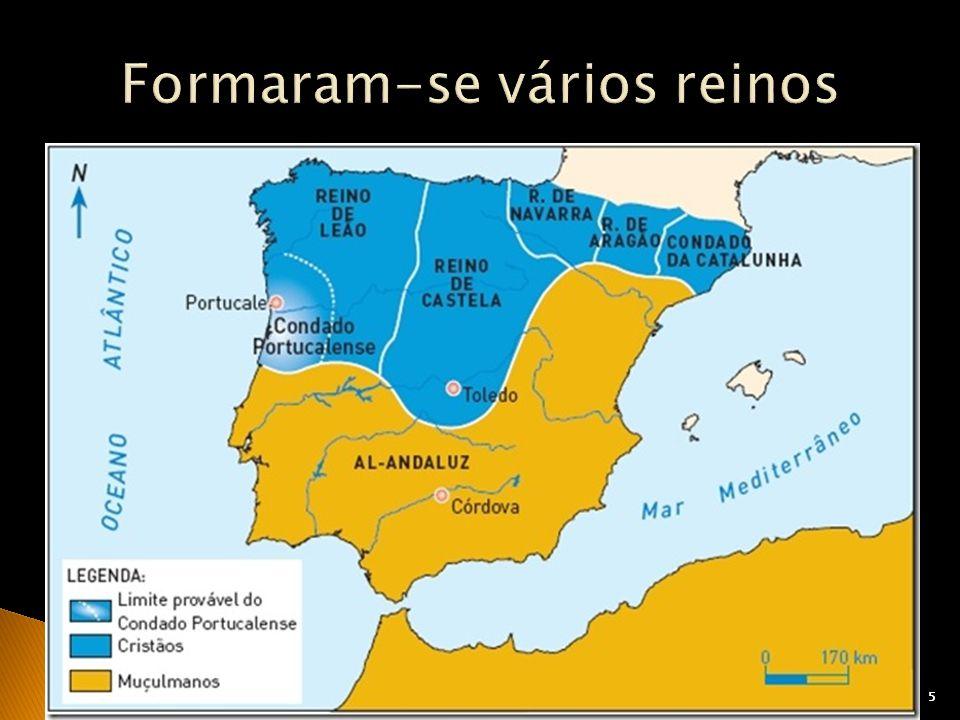 66 Cavaleiros que vieram para a Península Ibérica combater os muçulmanos.