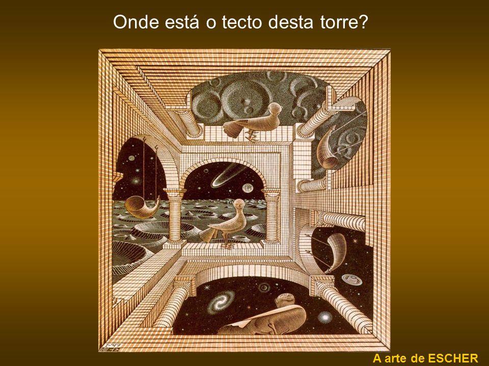 ilusão de óptica Os círculos estão apoiados sobre rectas paralelas.