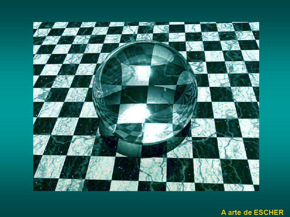 ilusão de óptica A vermelho está desenhado um quadrado?
