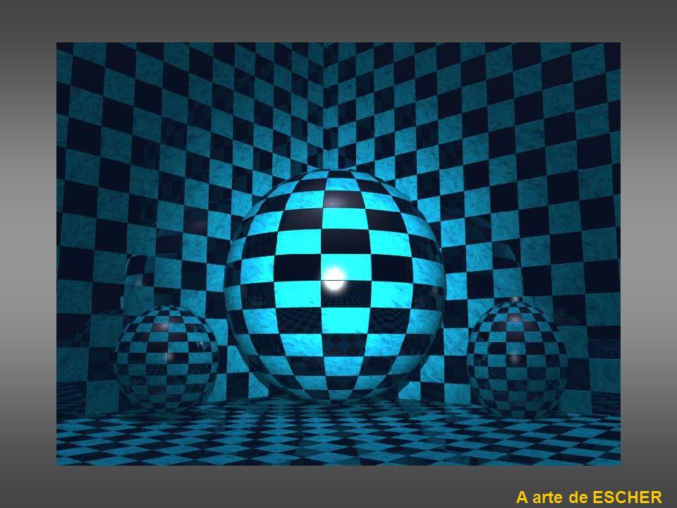ilusão de óptica Tente contar os pontos pretos…