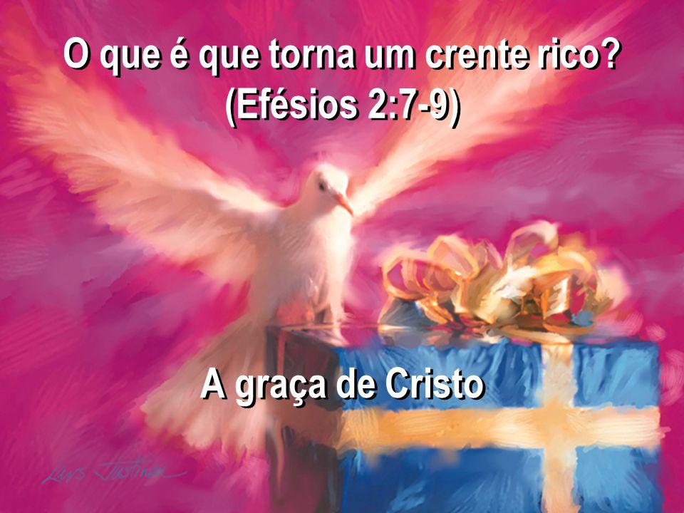 A graça de Cristo