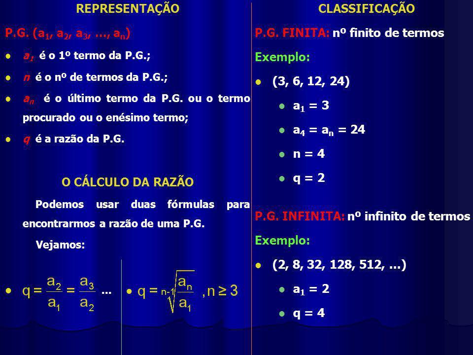 REPRESENTAÇÃO P.G.
