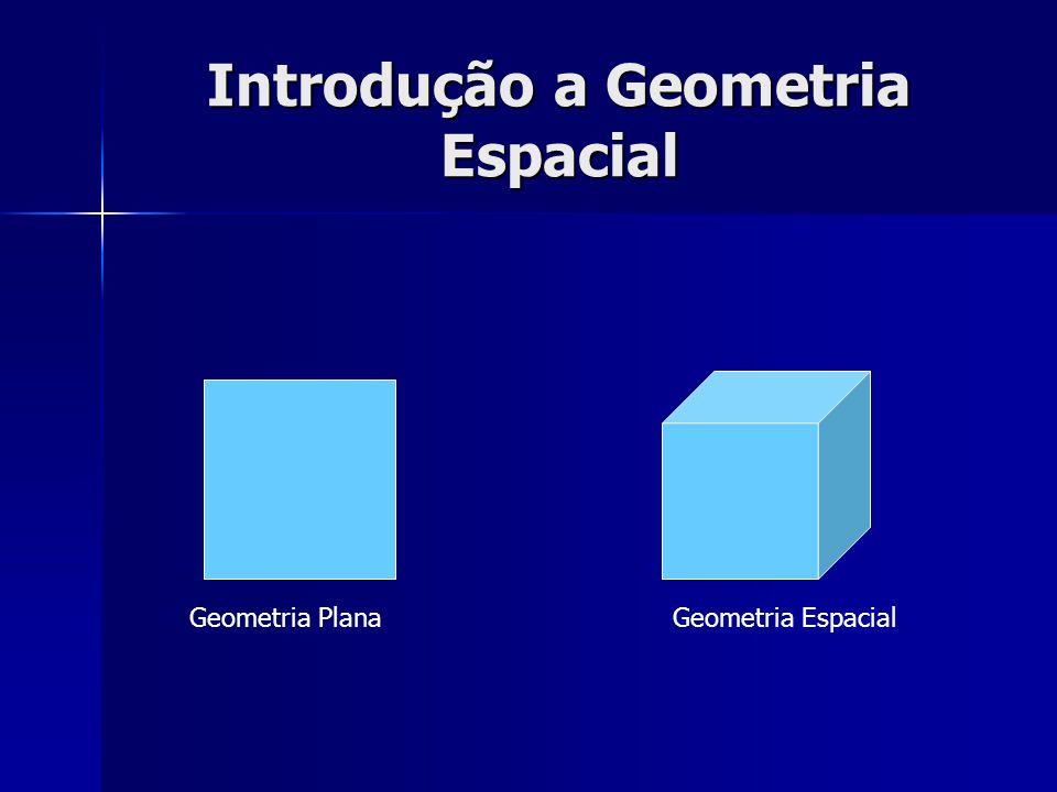 Introdução a Geometria Espacial Geometria PlanaGeometria Espacial