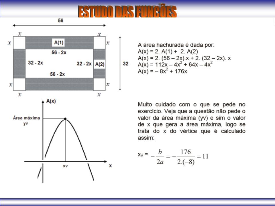 As dimensões de um retângulo são dadas em centímetros, pelas expressões: 2x e (10 – 2x) com 0 < x < 5.
