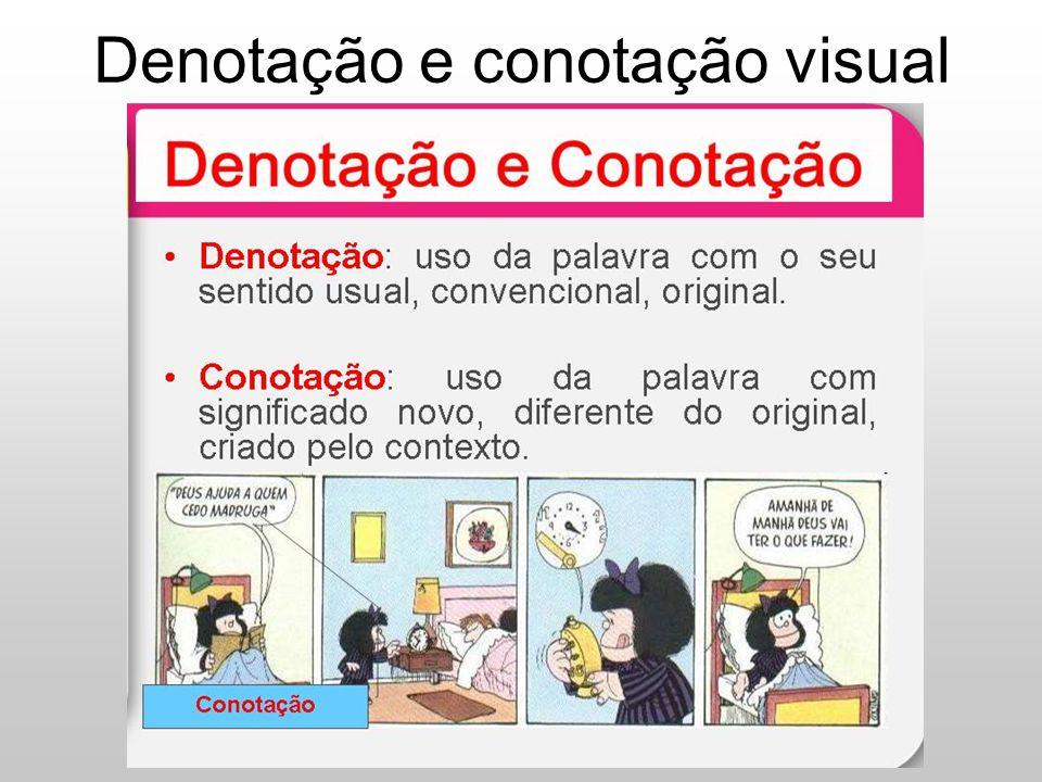 Denotação e conotação visual