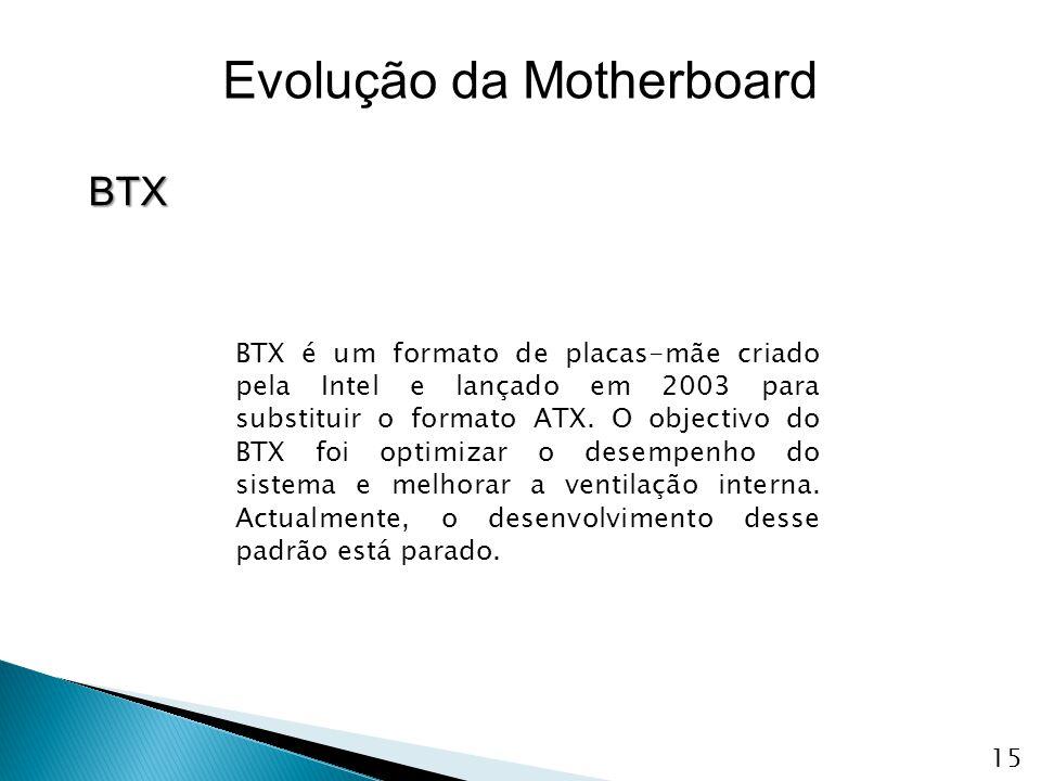 BTX é um formato de placas-mãe criado pela Intel e lançado em 2003 para substituir o formato ATX. O objectivo do BTX foi optimizar o desempenho do sis
