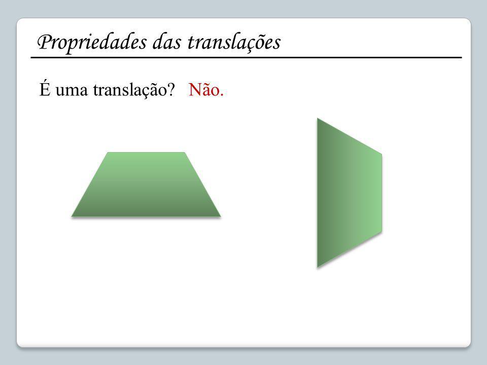 Como construir uma figura imagem de outra por uma translação? Sem quadrícula