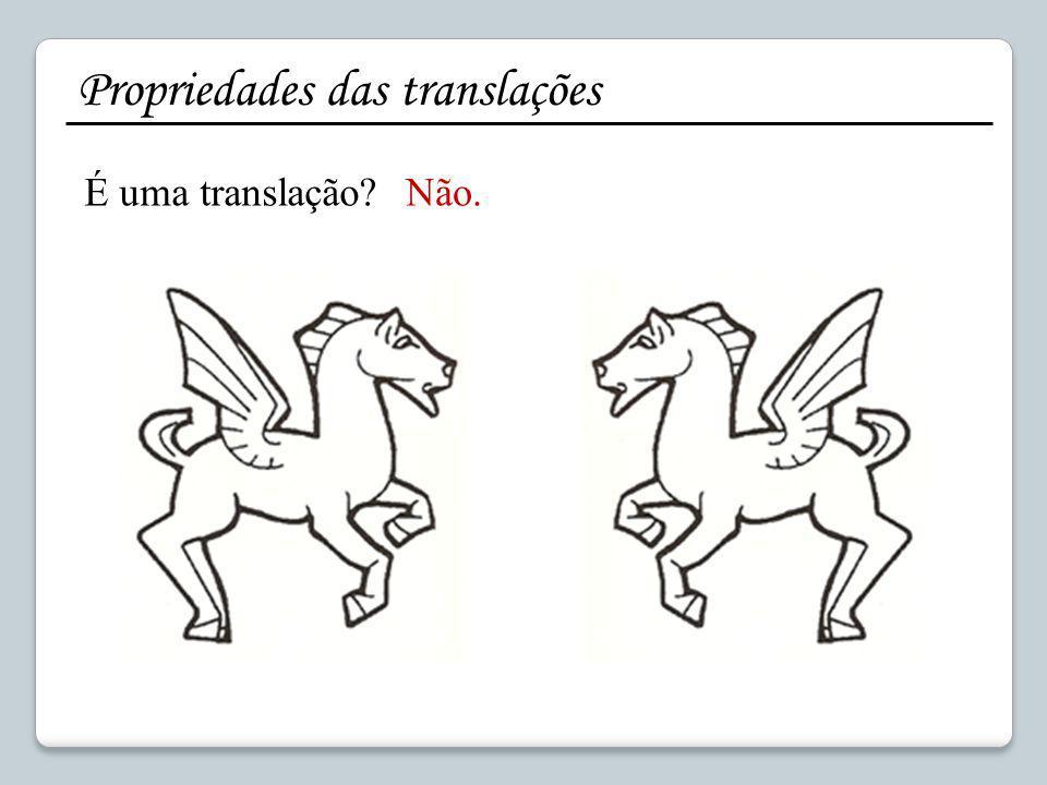 Construir a imagem de uma figura por uma translação composta