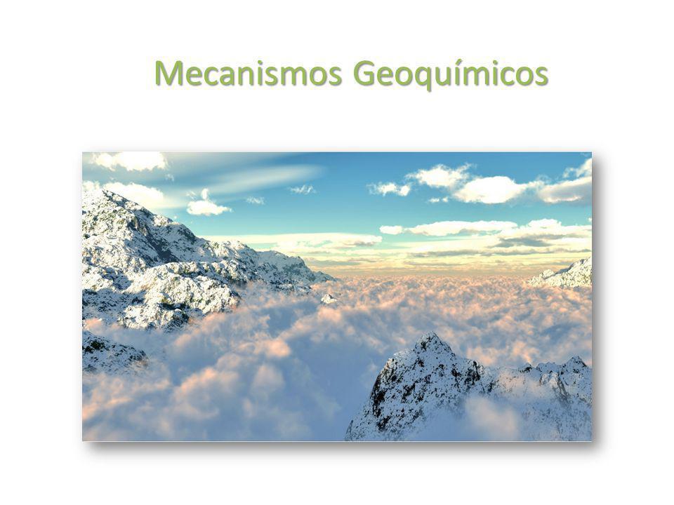 Mecanismos Geoquímicos