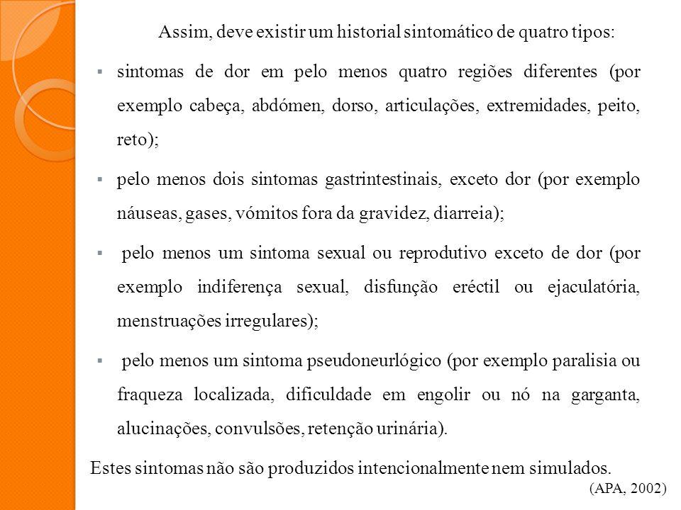 Caraterísticas específicas da Perturbação Dismórfica Corporal A Perturbação Dismórfica Corporal é igualmente distribuída entre homens e mulheres, sendo a sua prevalência desconhecida.