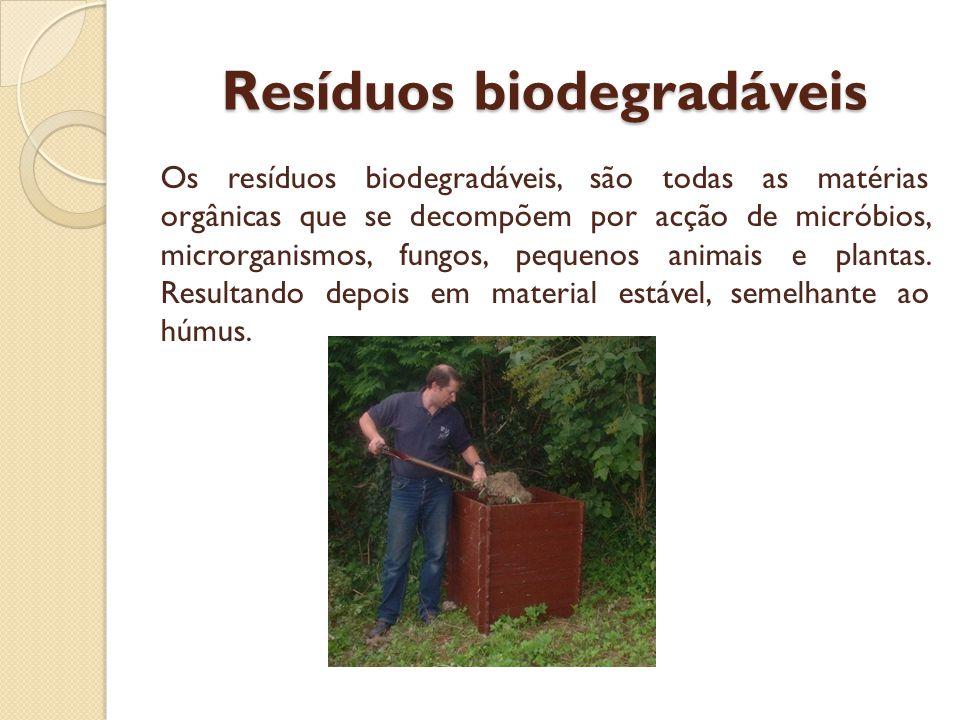 Resíduos recicláveis passíveis de entrega em entidades especializadas Há resíduos que devido à sua natureza, ou origem, têm de ser reciclados por entidades especializadas para o efeito.