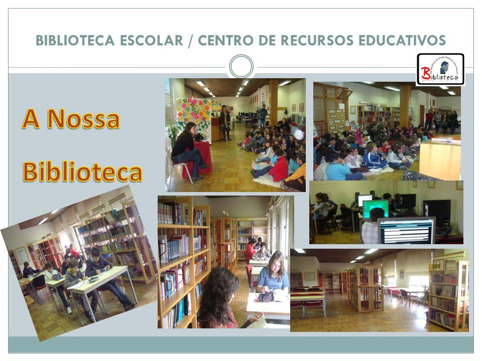 A BE é um espaço que dispõe de uma variedade de recursos pedagógicos para enriquecimento das actividades curriculares e pode ser utilizada por todos, de acordo com as normas definidas no regulamento.