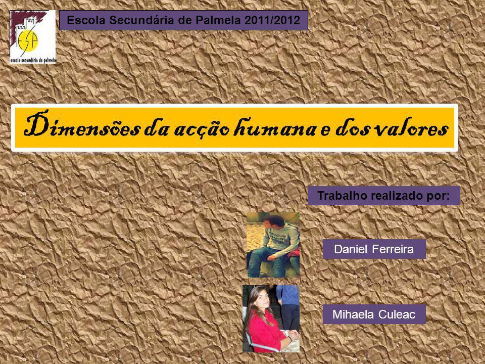 Escola Secundária de Palmela 2011/2012 Trabalho realizado por: Daniel Ferreira Mihaela Culeac