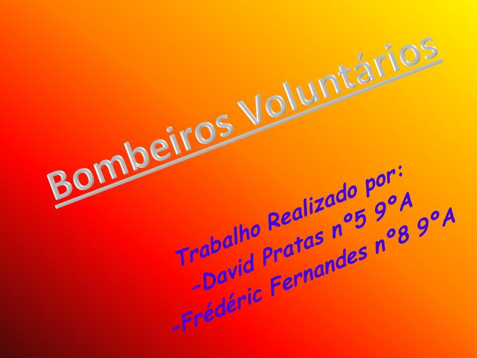 O que fazem os bombeiros voluntários.