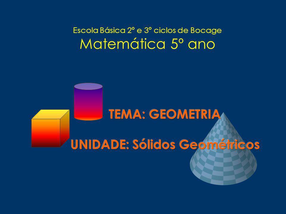 Escola Básica 2º e 3º ciclos de Bocage Matemática 5º ano
