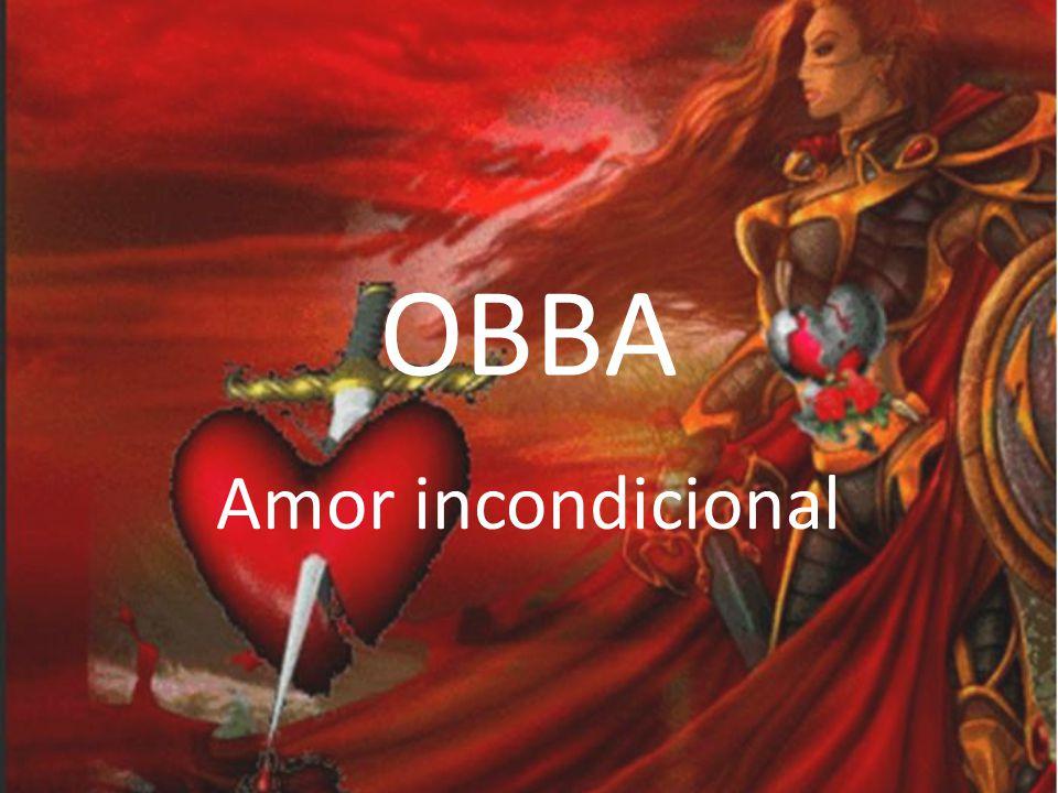 OBBA Obá, Orixa africano do Rio Obá ou rio Níger, primeira esposa de Xangô, identificada no jogo do merindilogun pelos odu odi, obeogunda e ossá.