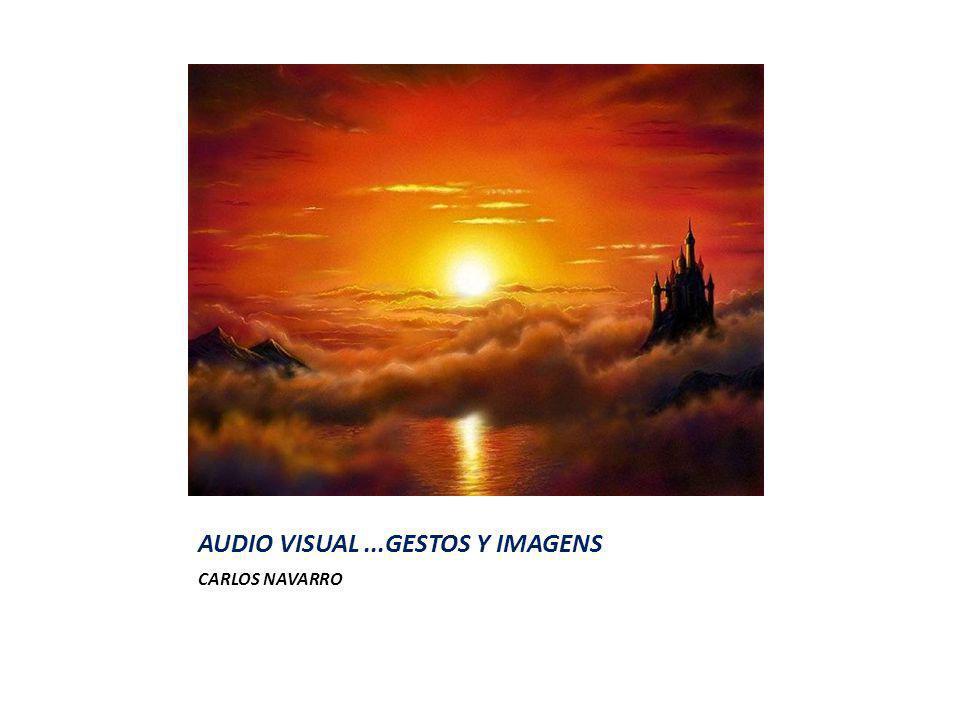 AUDIO VISUAL...GESTOS Y IMAGENS CARLOS NAVARRO