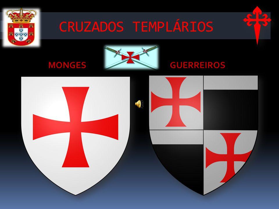 CRUZADOS TEMPLÁRIOS MONGES GUERREIROS