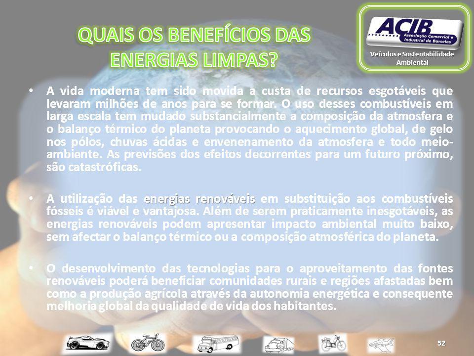 Veículos e Sustentabilidade Ambiental 52