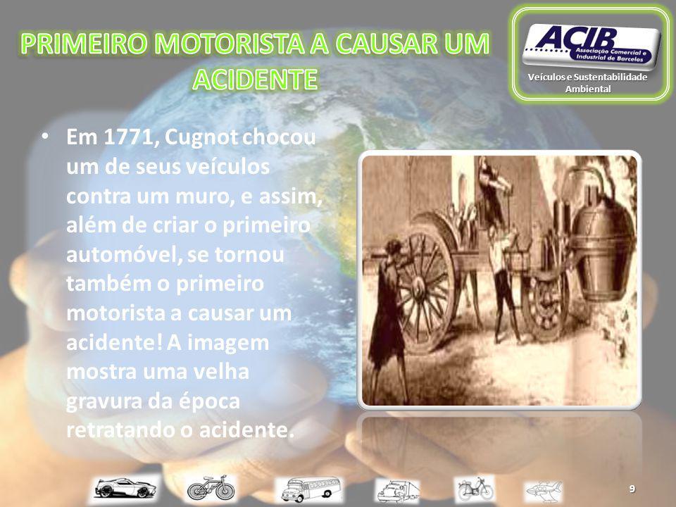 O primeiro automóvel a chegar a Portugal foi um veículo da marca Panhard-Levassor tendo sido importado de Paris pelo IV Conde de Avilez em 1895.