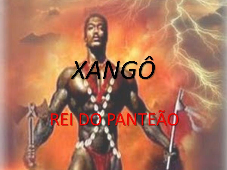 XANGÔ Changó (em português, Xangô) é uma das deidades da religião yorubá.
