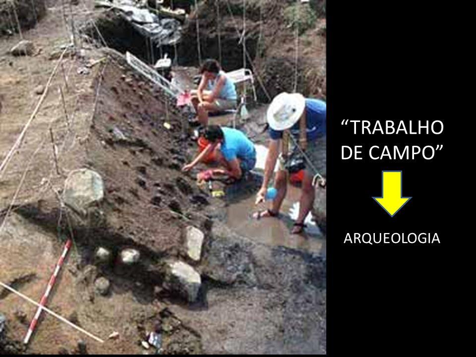 TRABALHO DE CAMPO ARQUEOLOGIA