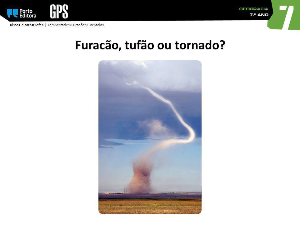 Riscos e catástrofes | Tempestades/Furacões/Tornados Furacão, tufão ou tornado?