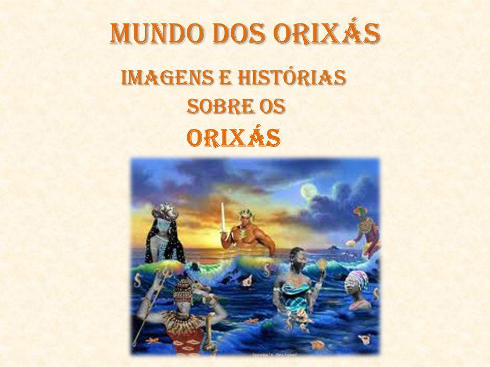 Orixás OnilêOnilê, Orixá que carrega um saco nas costas e se apoia num cajado.