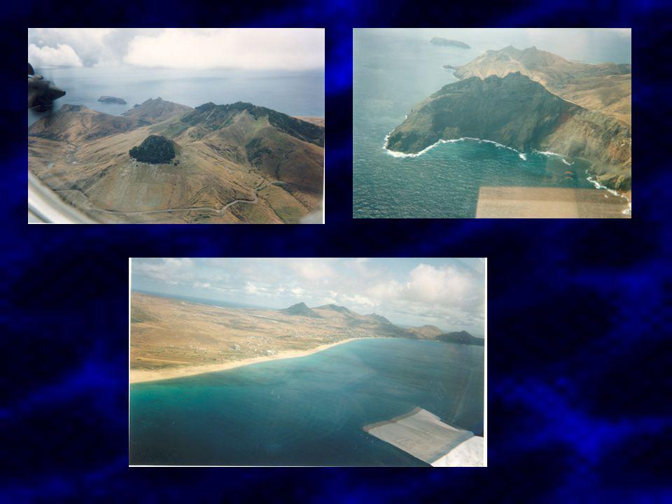 MADEIRA É de origem vulcânica, o vulcanismo é considerado extinto. Última erupção terá sido 1,7 Ma.