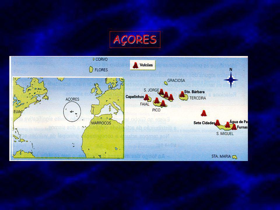 Quais os territórios portugueses que apresentam na actualidade maior actividade vulcânica ?