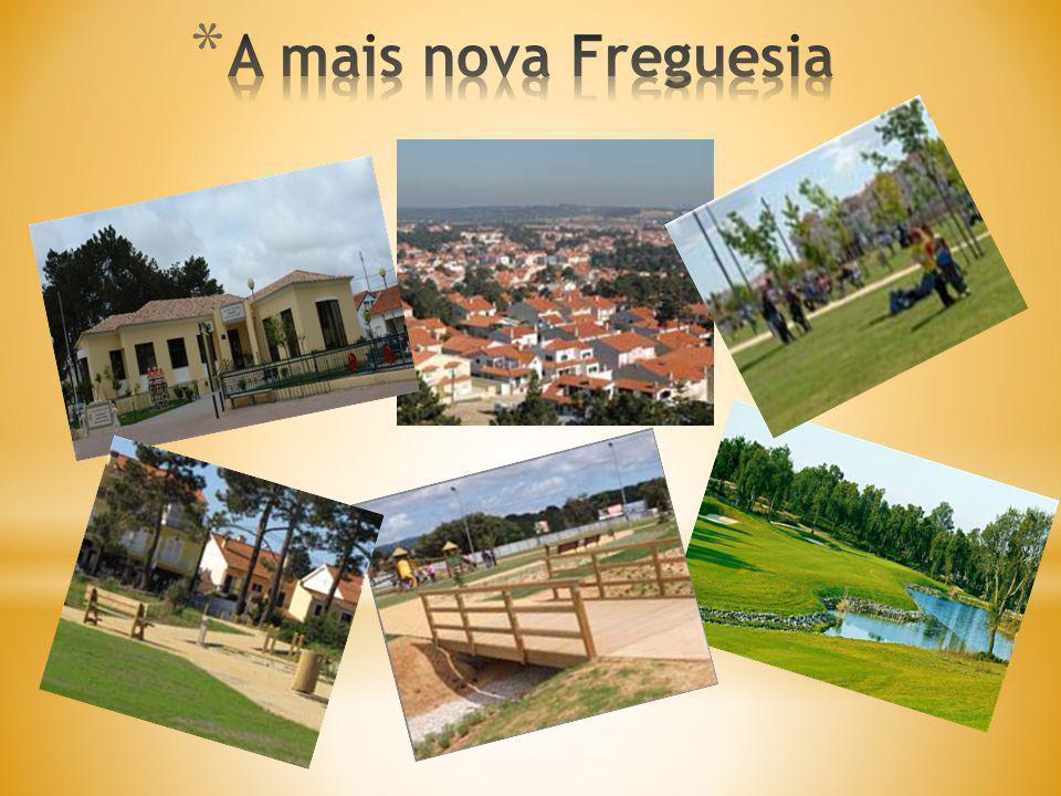 Situada na zona nordeste do concelho, precisamente no centro da Península de Setúbal, surgiu no início da década de setenta, a partir do parcelamento