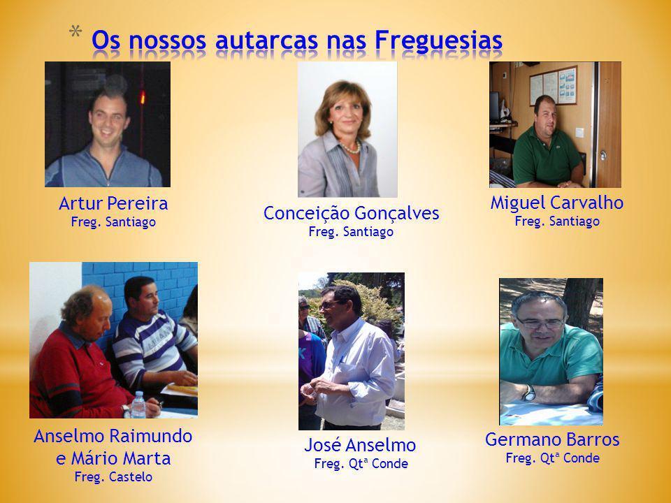 Artur Pereira Freg.Santiago Conceição Gonçalves Freg.