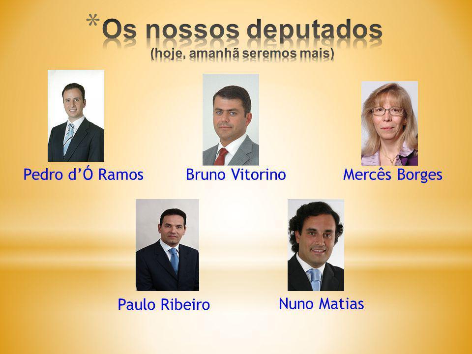 António Salgueiro Vice Presidente CPD Pedro dÓ Ramos Presidente CPD Paulo Ribeiro Vice Presidente CPD