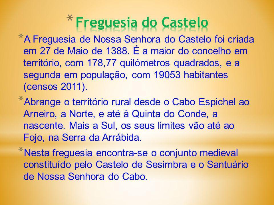* A Freguesia de Nossa Senhora do Castelo foi criada em 27 de Maio de 1388.