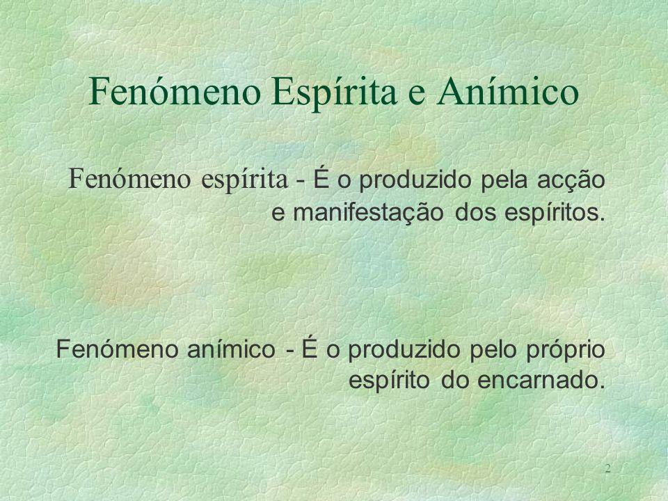 Trabalho realizado por Cândida Vieira Agosto de 1999 Animismo e Mediunidade Bibliografia: BOZZANO, Ernesto, Animismo ou Espiritismo; KARDEC, Allan, O