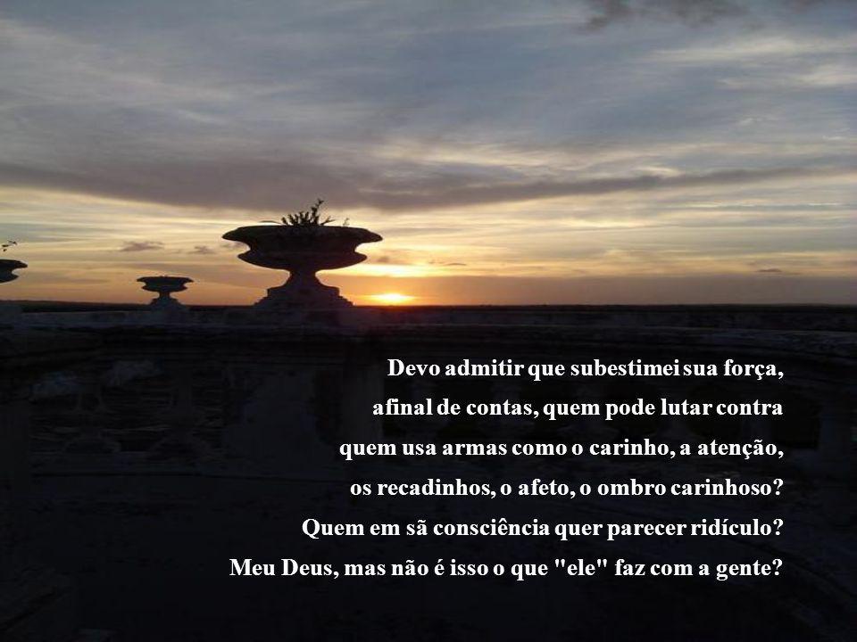 Guerra do Amor Paulo Roberto Gaefke Avisa todo mundo que eu perdi, sim, não deu para resistir, por mais que eu tenha lutado, por todos os esforços que