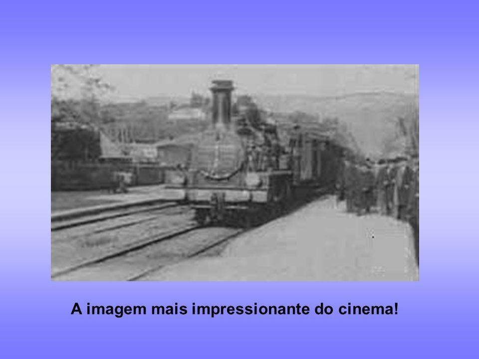 1895: 1ª sessão de cinema em Paris – irmãos Lumière O primeiro filme: A saída dos operários da fábrica Lumière